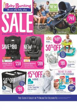 Baby Bunting Catalogue 27 Mar - 28 Apr 2019