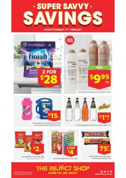 Reject Shop Catalogue 21 Feb - 2 Mar 2019