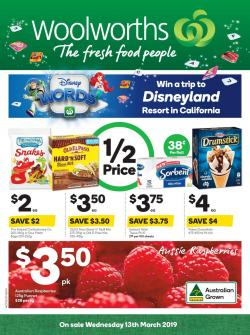 Woolworths Catalogue 13 - 19 Mar 2019