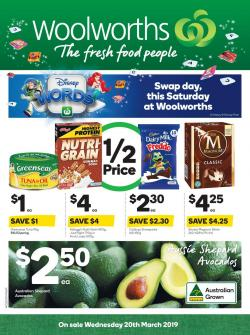 Woolworths Catalogue 20 - 26 Mar 2019