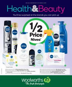 Woolworths Catalogue Beauty 6 - 12 Mar 2019